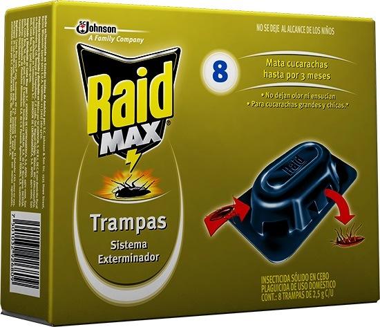 Raid Trampas para cucharachas
