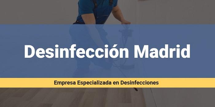 servicio desinfeccion en madrid